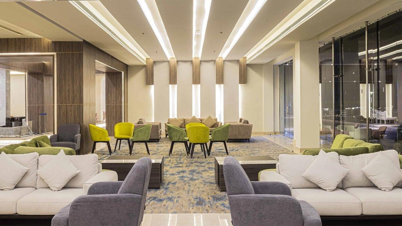 Amarina Abu Soma Resort Empfangshalle